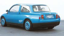 1993 Mazda HR X2 rearview