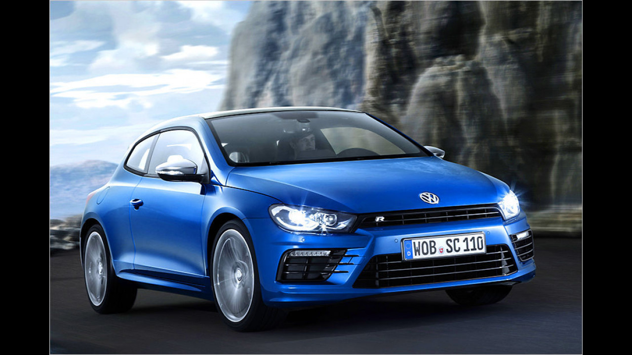 VW Scirocco R (nach Facelift): 280 PS