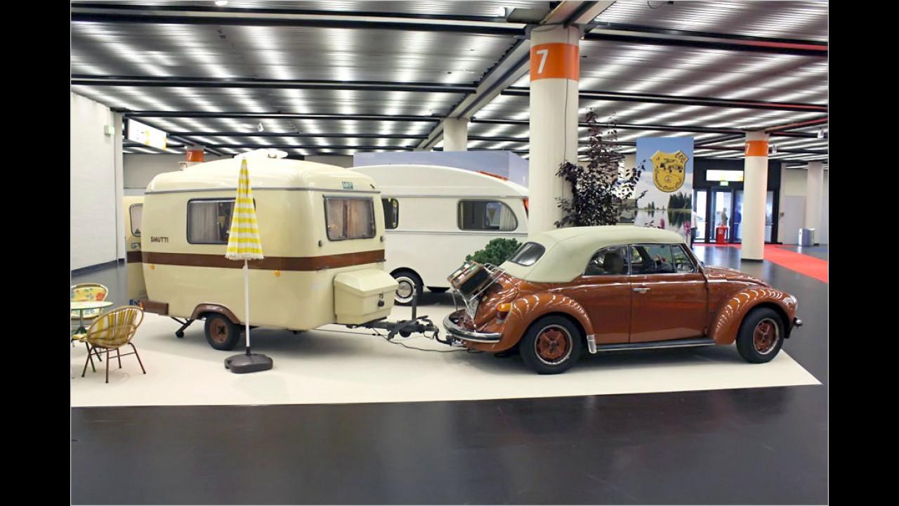 VW Käfer mit MKP Smutti-Anhänger
