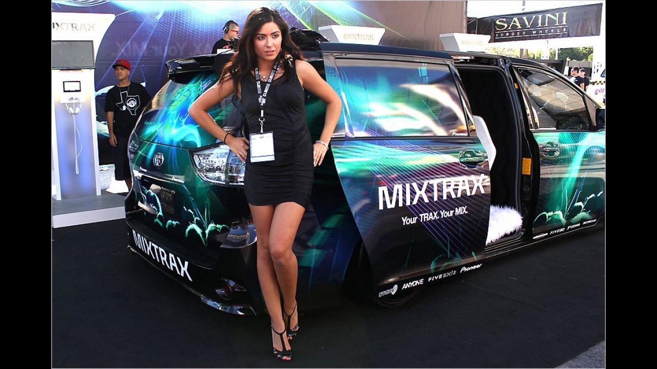 Mixtrax: Die Amis stehen auf Worte mit X. Wir können auch einen Satz mit X: Mit der Dame wirds wohl nix ...