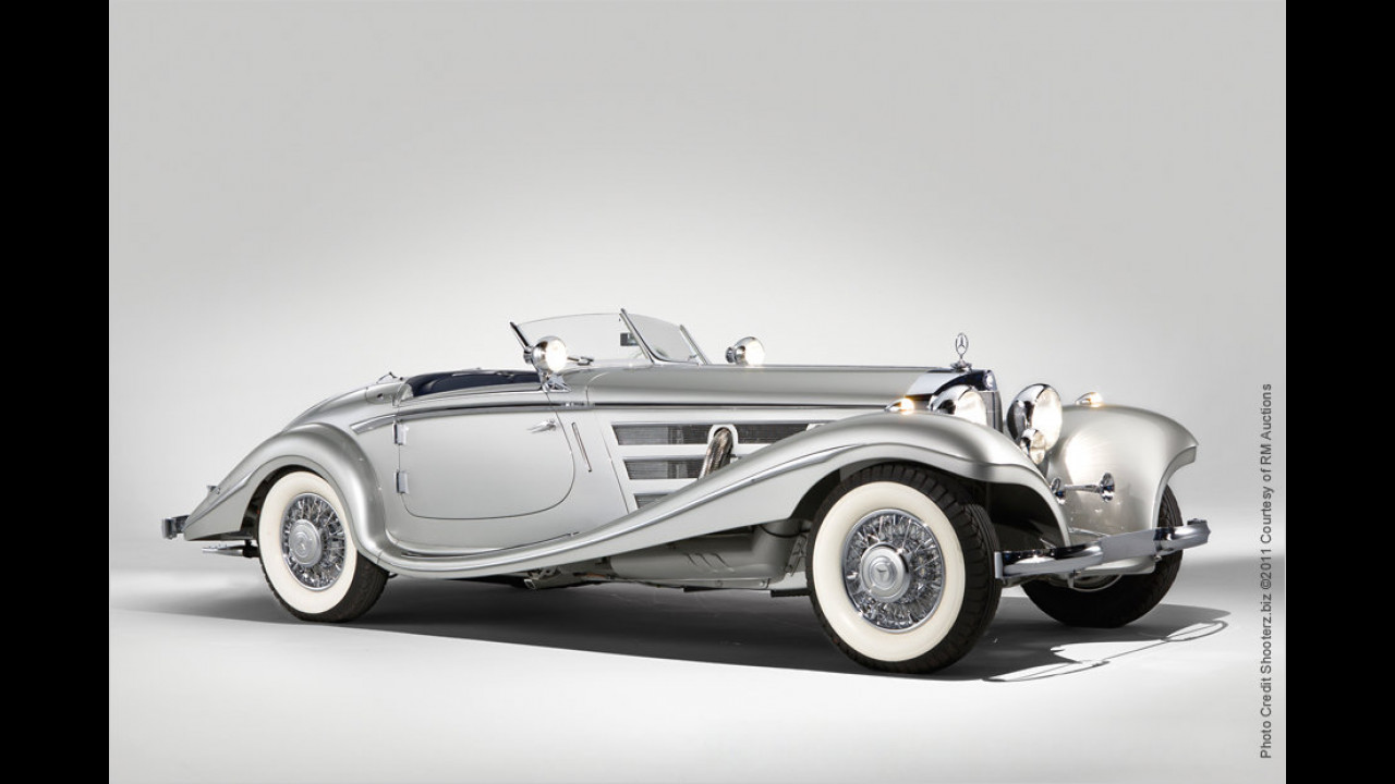 Platz 3 (2011): Mercedes-Benz 540 K Spezial Roadster, Baujahr 1937