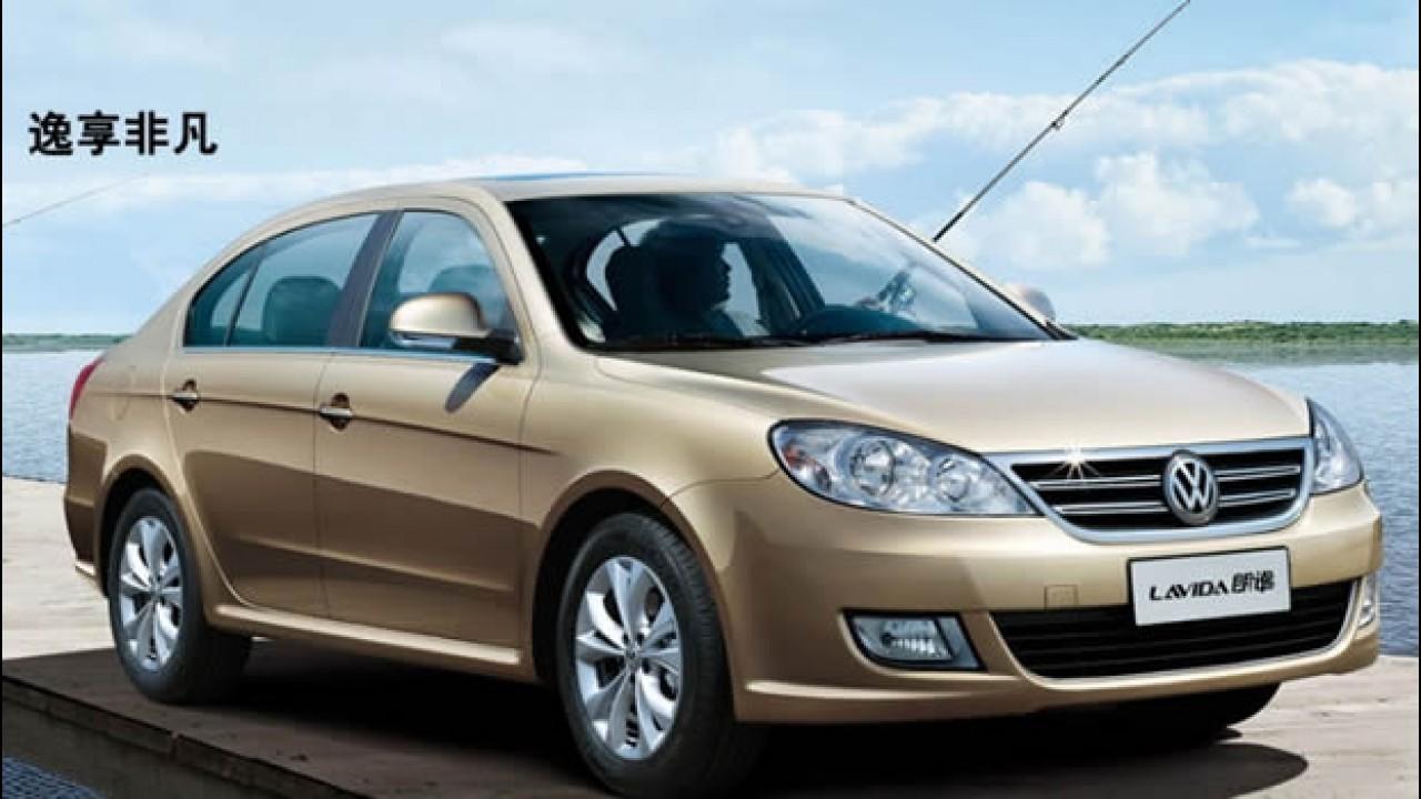 VW prepara reestyling do Lavida chinês