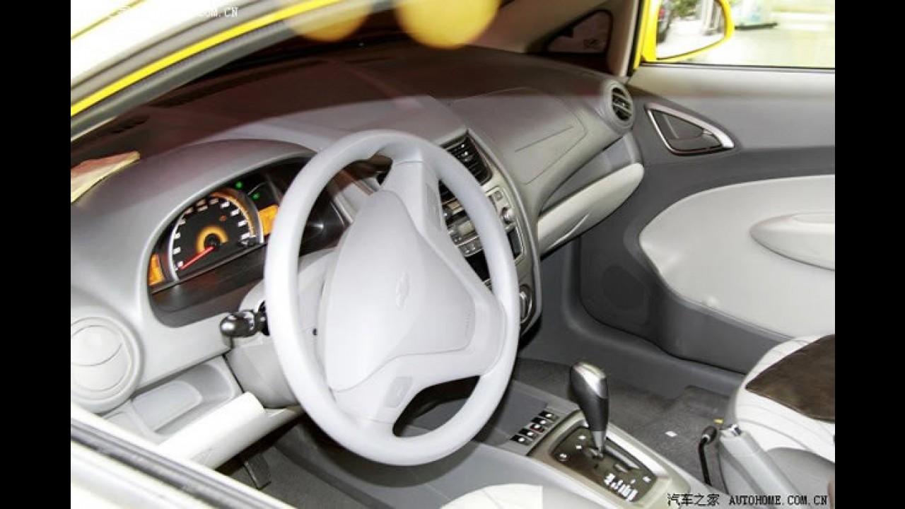 Chevrolet Sail Hatch: Nova geração do Classic ganha versão hatch na China