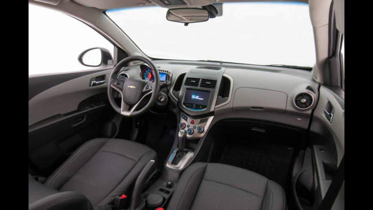 Chevrolet Sonic 2014 ganha sistema MyLink e novas cores