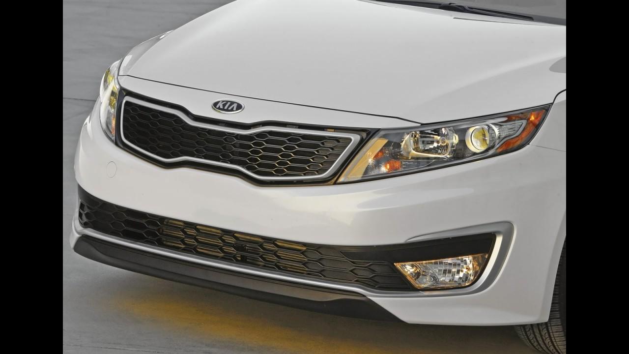 Kia Optima Hybrid é lançado pela Kia nos EUA - Preço equivale a R$ 43 mil