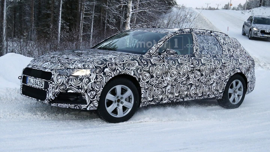 Audi hides the obvious with camouflaged A4 Allroad
