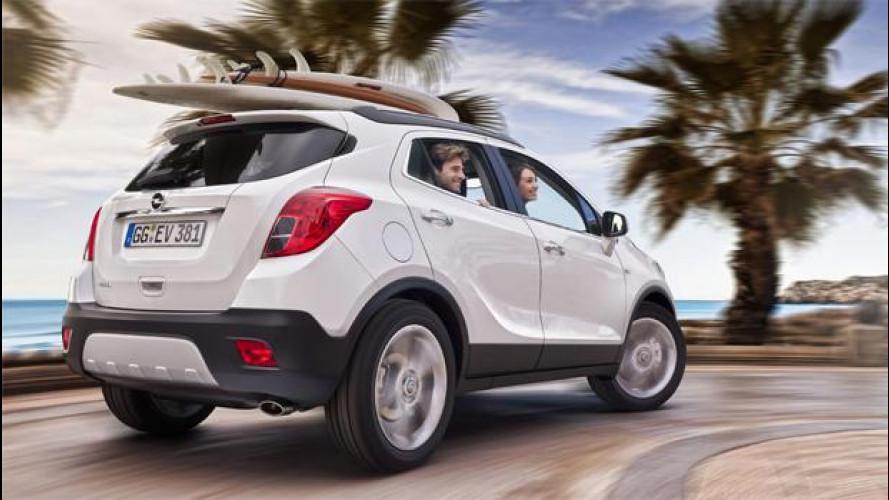 Opel Mokka in offerta, il 2014 inizia con 4.000 euro di sconto
