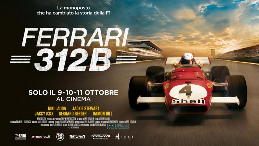 Ferrari 312B, la storia della prima F1 con motore boxer è al cinema