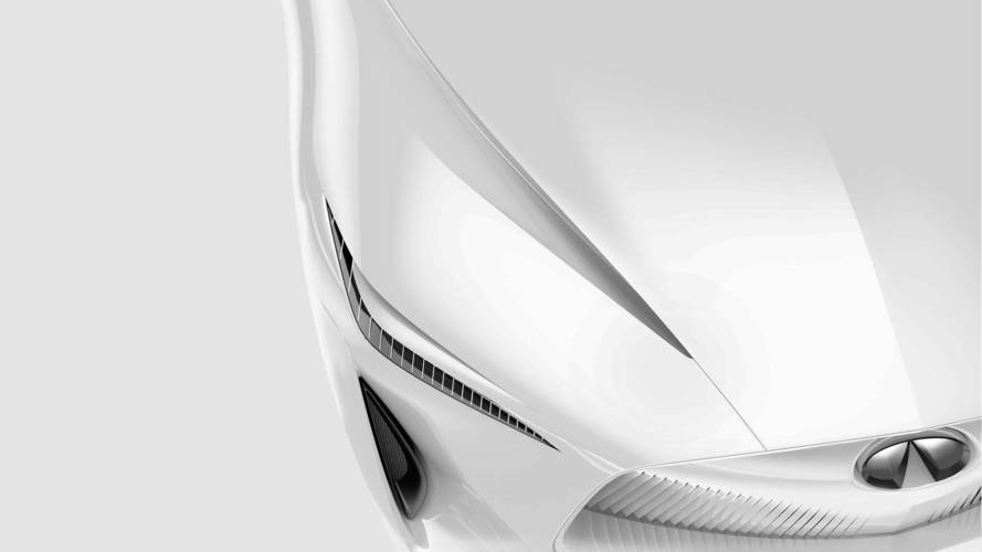 Infiniti Detroit Car Concept Darkened