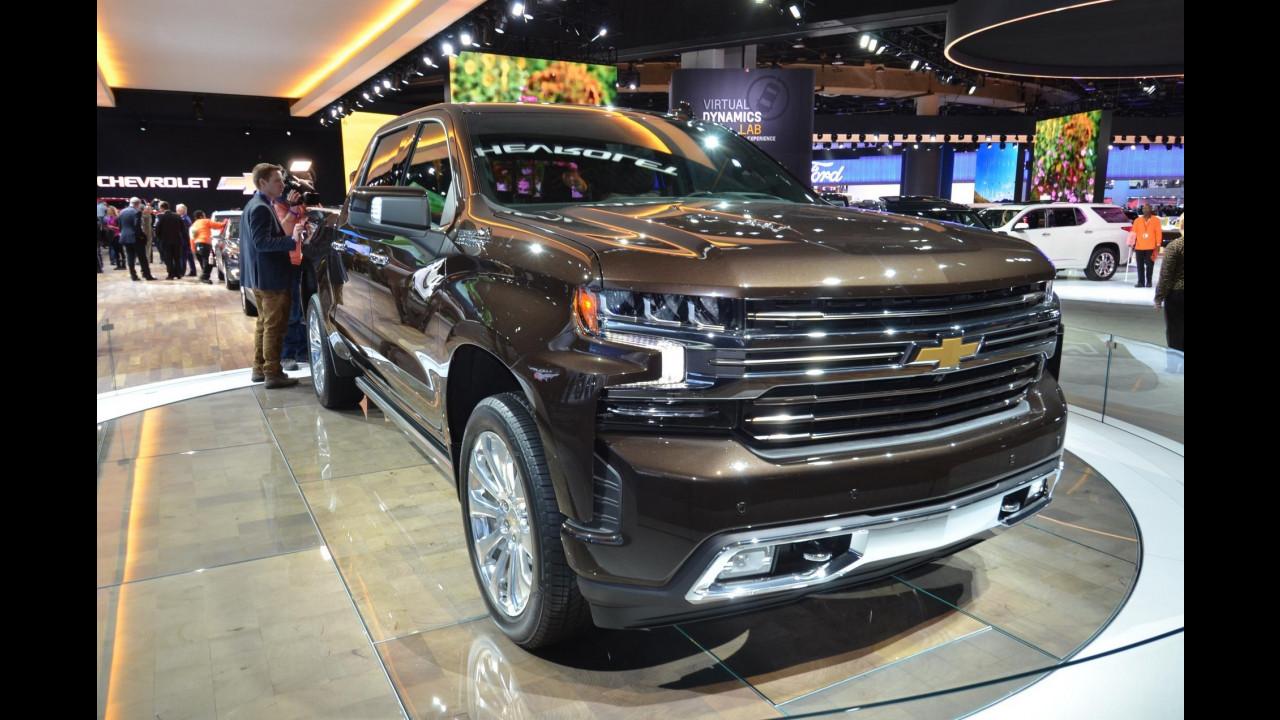 Chevrolet Silverado al Salone di Detroit 2018