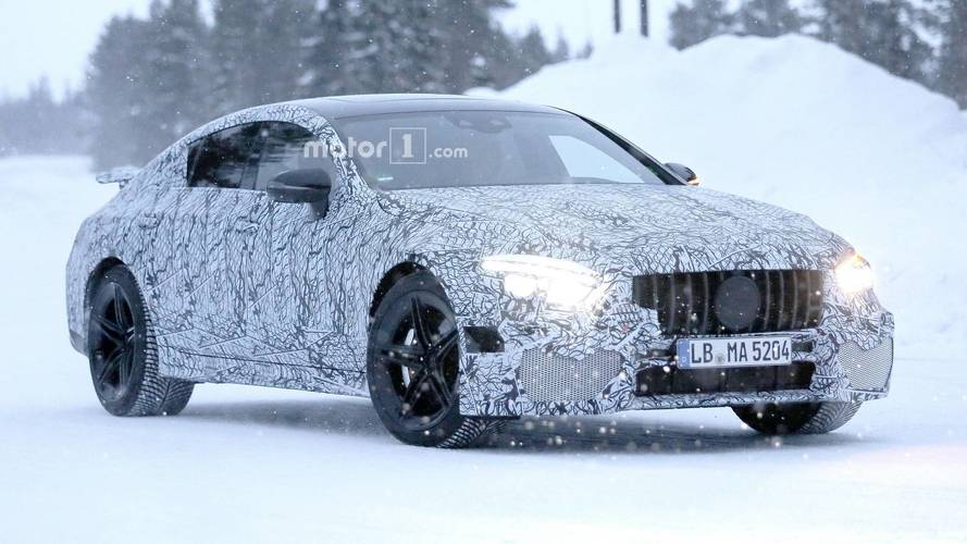 Mercedes-AMG GT Sedan Caught With Numerous Sporty Bits