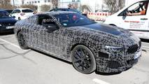 2019 BMW 8 Series Coupe spy photo