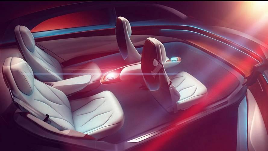 Volkswagen I.D. Vizzion Concept  - Teaser