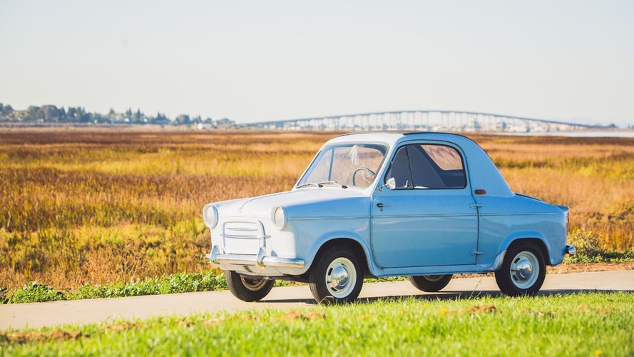 eBay'de bulduğumuz 1959 Vespa 400 yalnızca 8,000 kilometrede