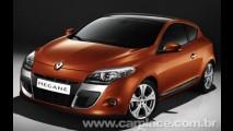 Renault divulga imagens e dados oficiais do novo Mégane Coupé 2009