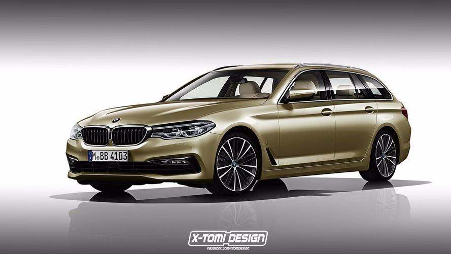 BMW Série 5 Touring 2017 - Troublante de réalisme!