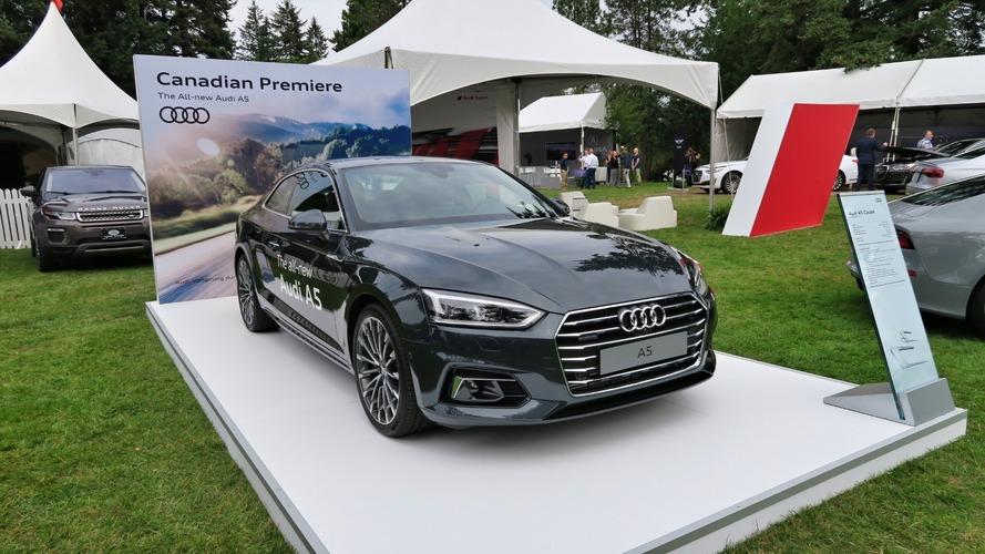 2018 Audi A5 Vancouver'daki Kuzey Amerika tanıtımıyla şaşırttı