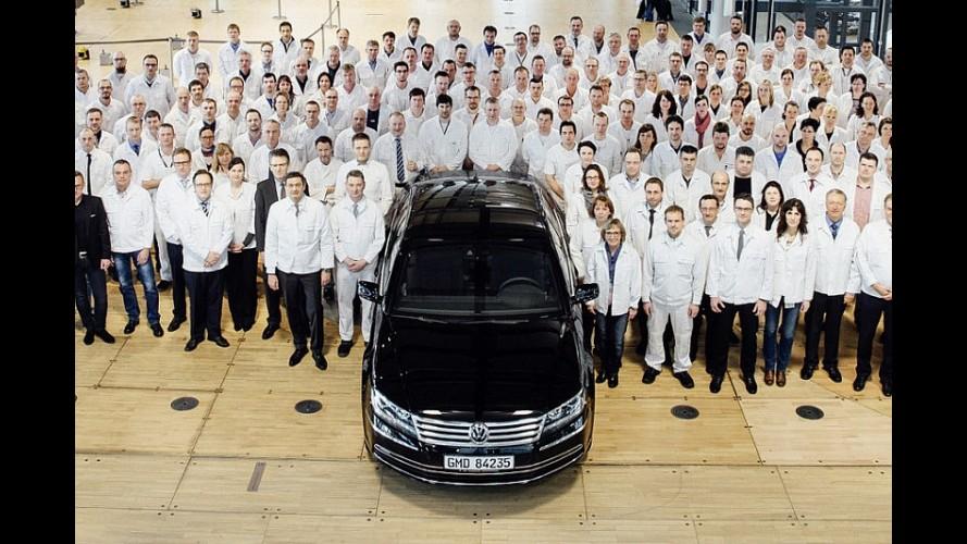 VW Phaeton'un üretimine son verdi, Cam Fabrika kapandı