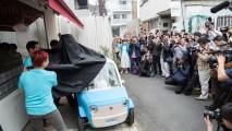 Japon kumaşlı elektrikli araç, muhteşem bir şehir otomobili olabilir