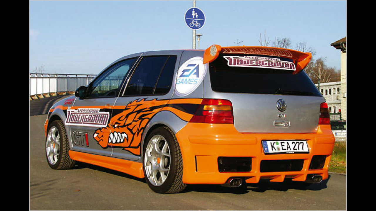 VW Golf GTI Need for Speed (2004)
