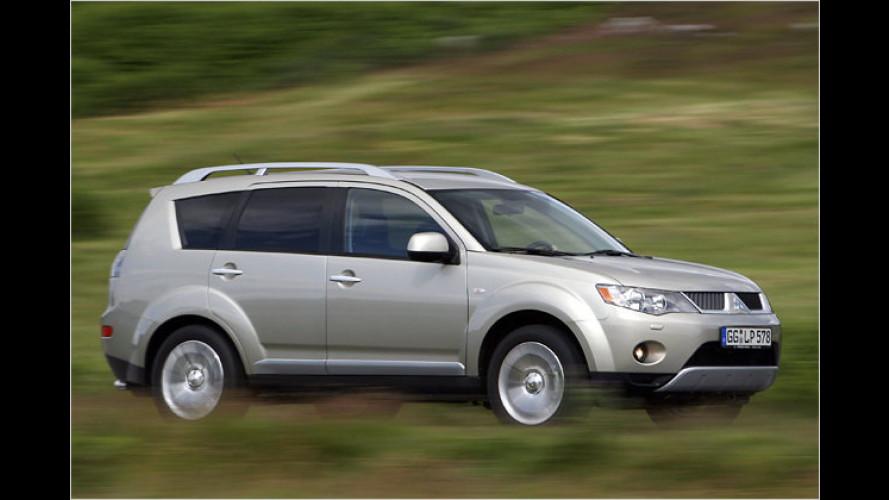 Mit Frontantrieb: Einstiegsmodelle vom Mitsubishi Outlander