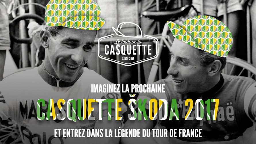 Dessinez la prochaine casquette Škoda pour le Tour de France