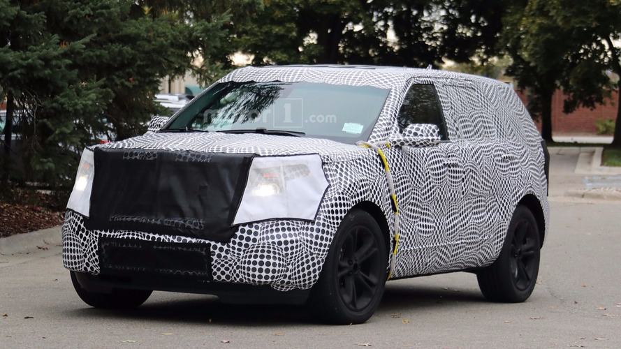 2019 Ford Explorer spied for the first time