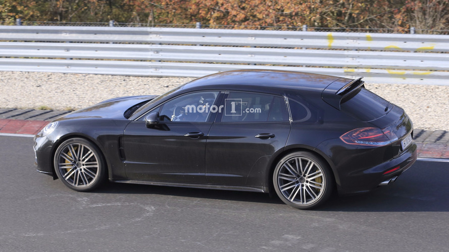 2018 Porsche Panamera Sport Turismo wagons its tail