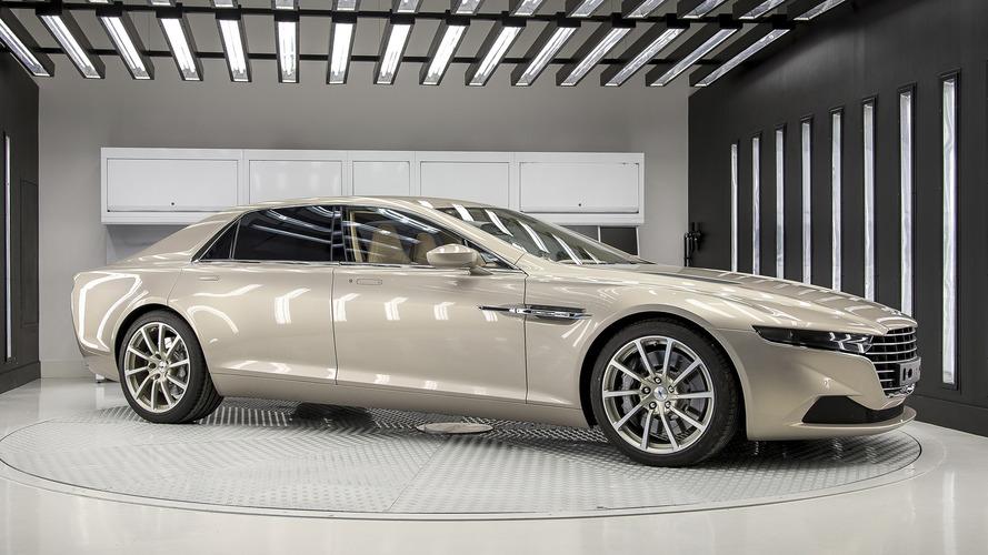 Aston Martin planning range of Lagonda saloons to take on Bentley