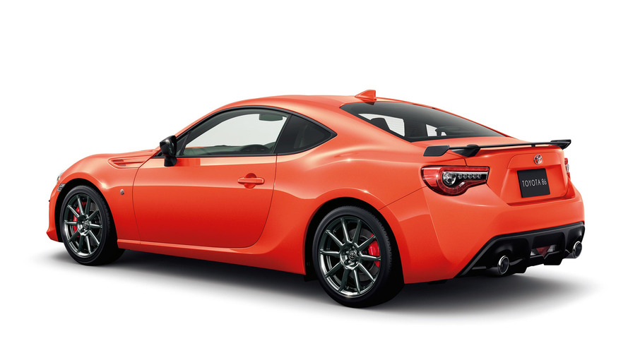 Toyota 86 Solar Orange Limited and Limited High Performance Package