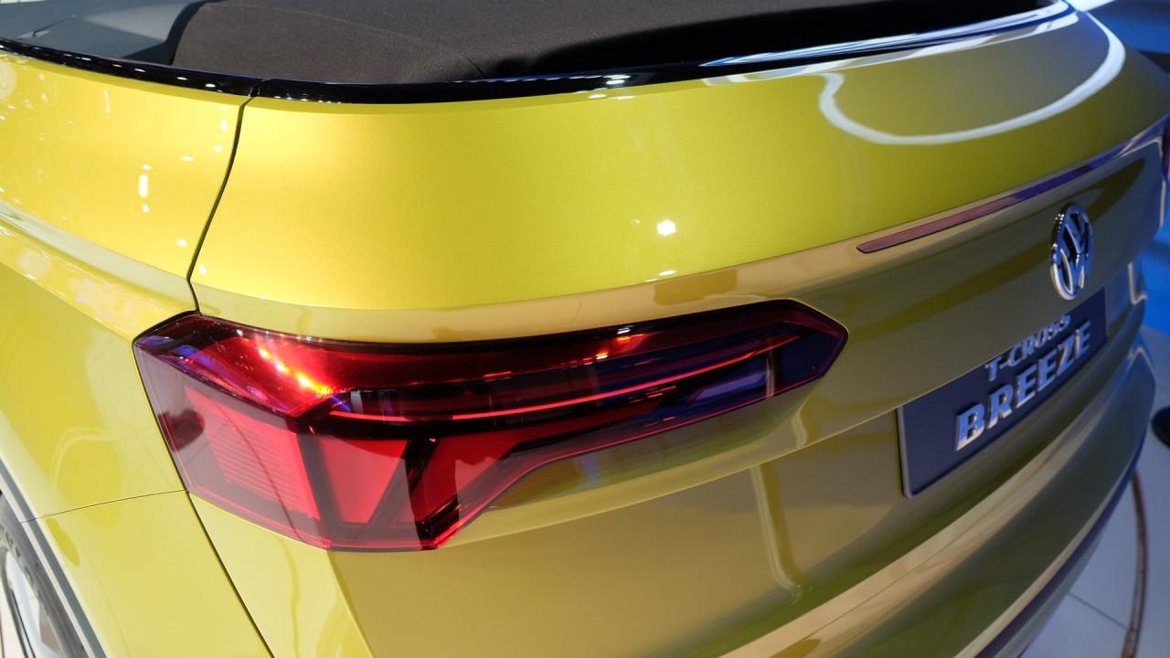 Salão do Automóvel: VW T-Cross Breeze conceitua futuro SUV do Gol