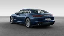 Porsche Panamera 4S Diesel 2017 azul