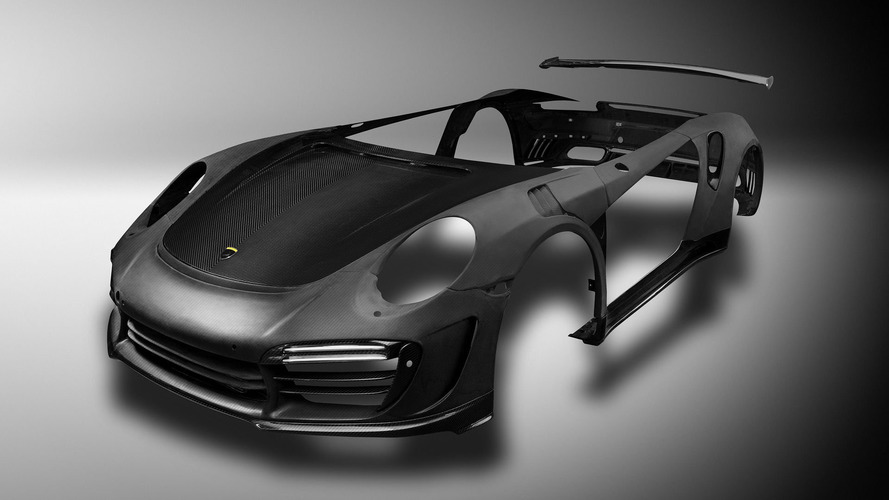 Tuner company strips its carbon-fibre body for Porsche 911 Turbo