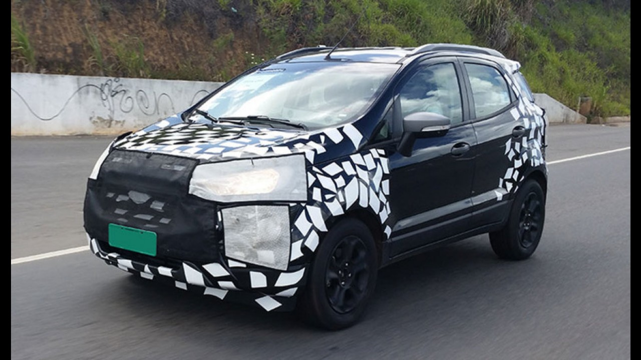 Ford EcoSport Powershift começa a ser exportado para o Peru