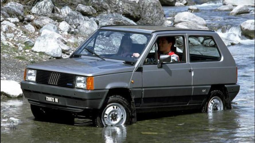 Fiat Panda 4x4, piccola arrampicatrice