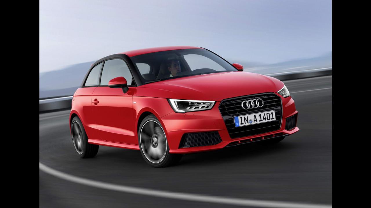 Audi A1 restyling 2015