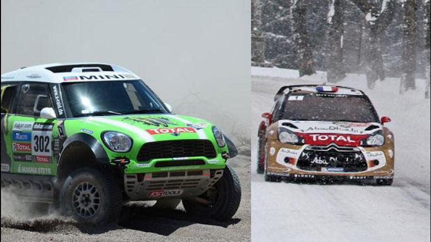 Weekend OmniCorse.it: parte il WRC, gran finale della Dakar