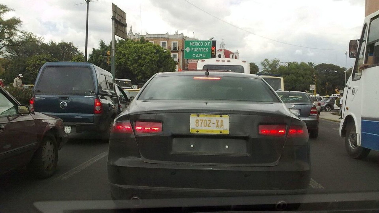 Possible VW NMS test mule spied in Mexico