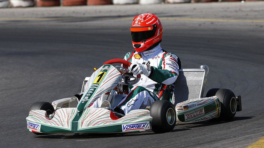 Schumacher denies kart race hobby too dangerous