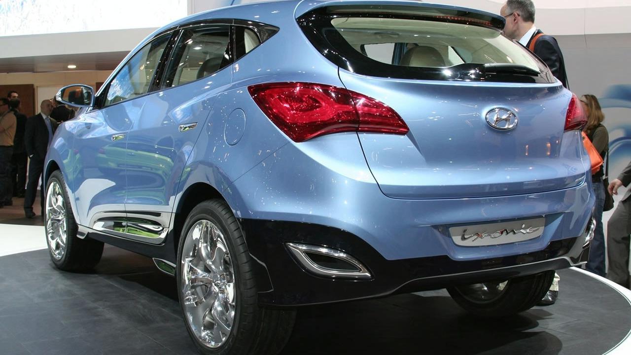 Hyundai ix-onic Concept Live in Geneva
