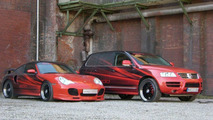 VW Touareg and Porsche 996 Turbo by Edo Competition