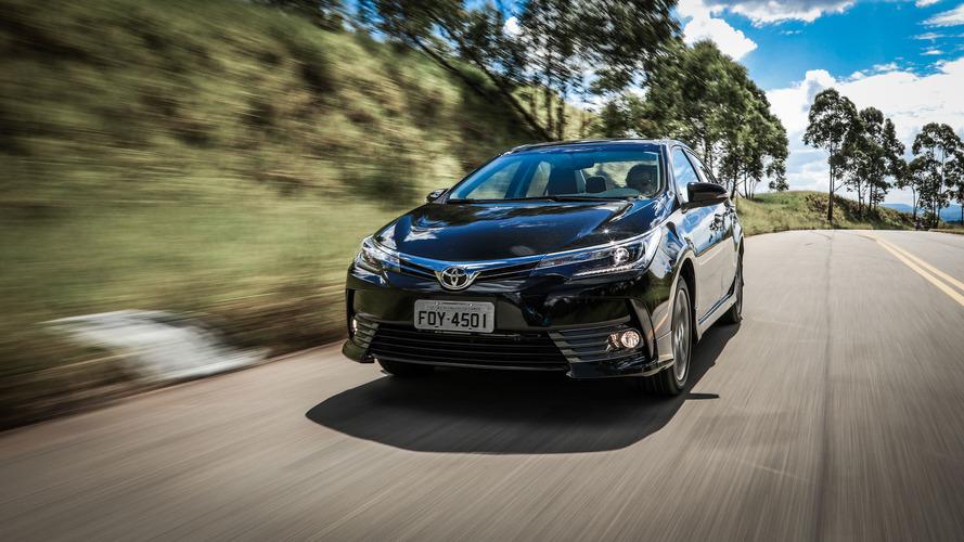 Toyota convoca Corolla para recall no cinto de segurança