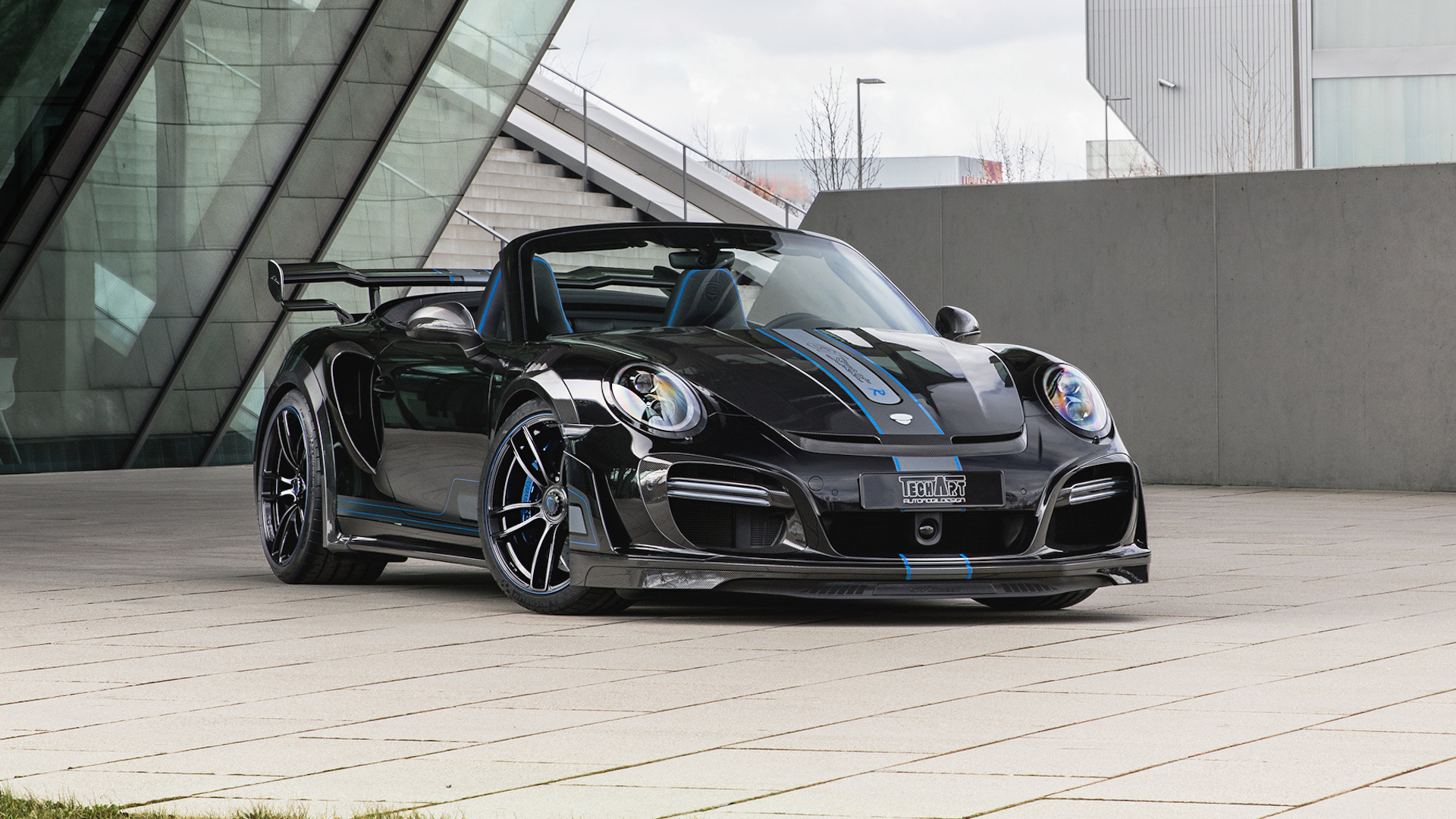 Techart S 711 Hp Porsche 911 Turbo Loses Its Roof