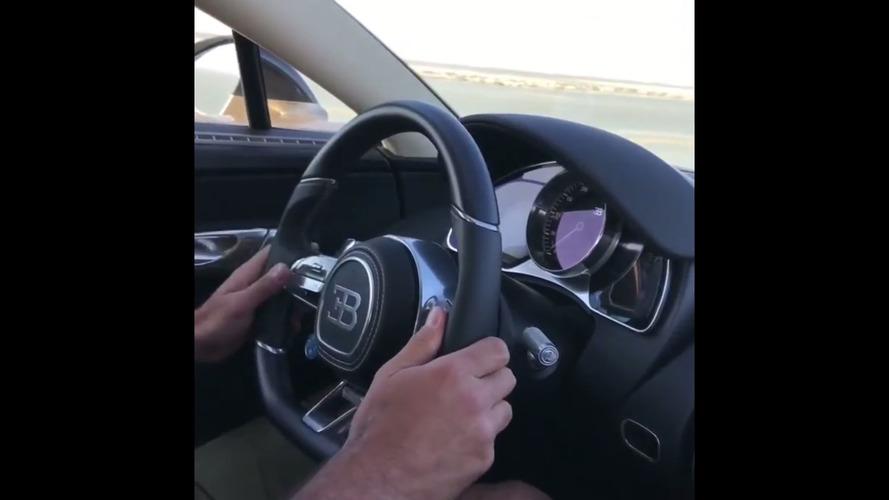 VIDÉO - La Bugatti Chiron entre les mains de Chris Harris