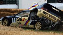Crash Ford RS200 Evo 2 à Goodwood