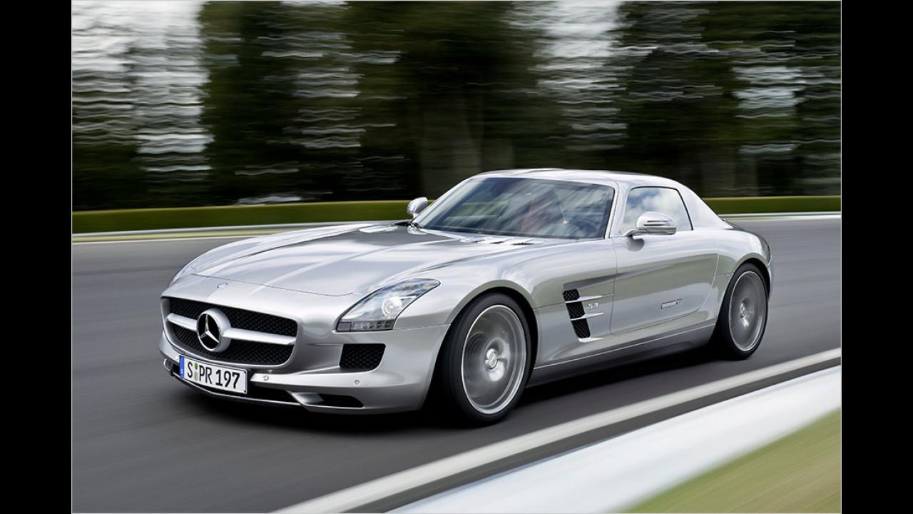 2010: Mercedes SLS AMG