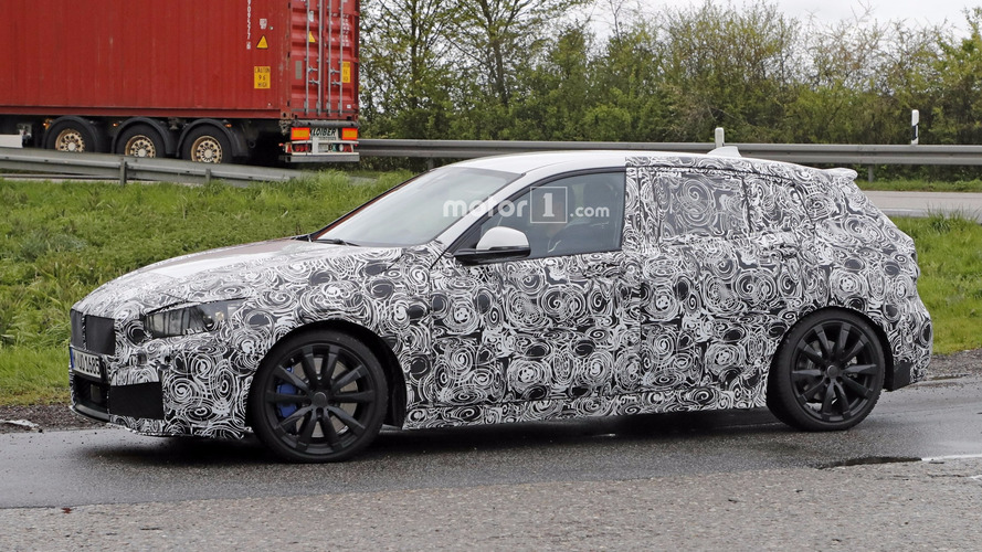 2019 BMW 1 Series Spied Possibly In M140i Spec
