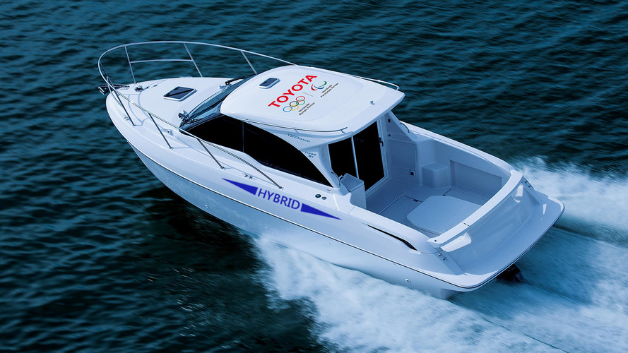 Toyota Develops Japan's First Hybrid Boat