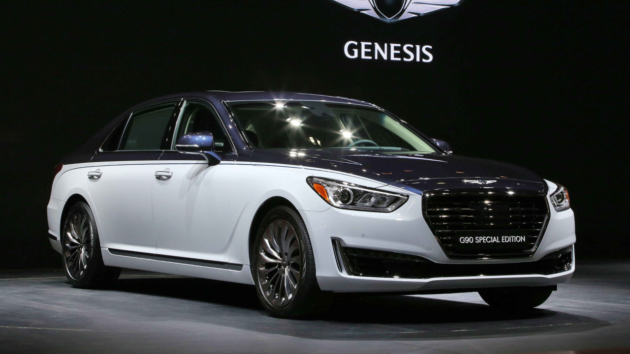 2017 genesis g90 special edition photos. Black Bedroom Furniture Sets. Home Design Ideas