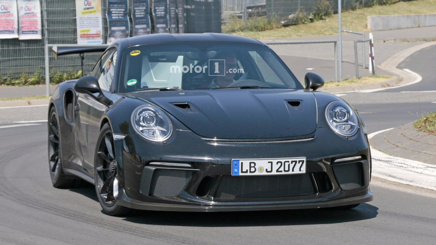 2018 Porsche 911 GT3 RS Spied Flaunting NACA Ducts